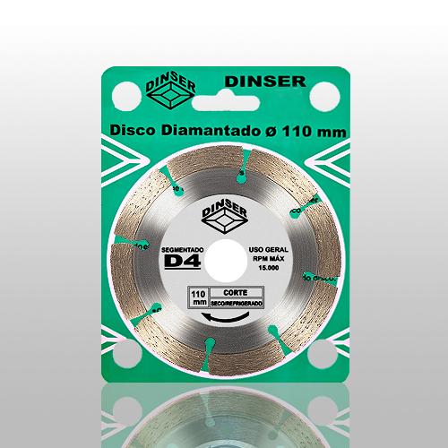 Disco Segmentado D4